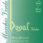 Dogal violin strings