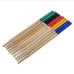ROSENICE 7A Drum Sticks Drum Accessories Multi Color for Kids 5 Pairs