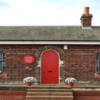 Lamp House Music Door